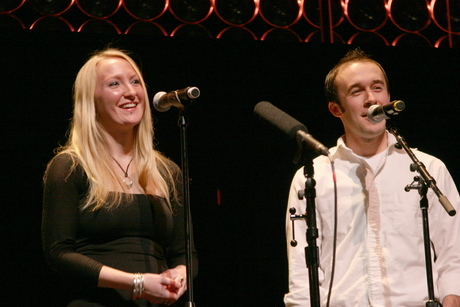 Michael Cook and Angela Shaeffer